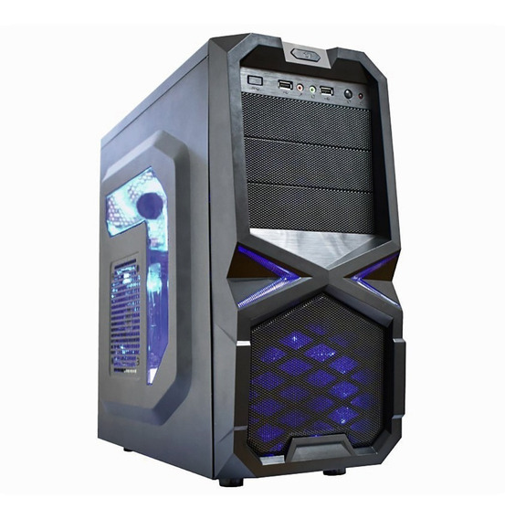 Cpu Gamer Win10 4gb + Placa De Video 1gb + Wifi + Dvd Sata