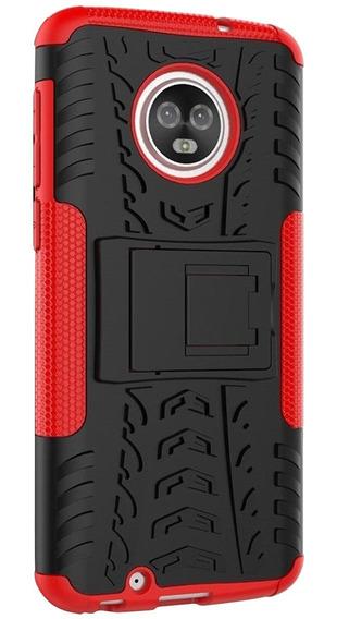 Funda Tired Moto E5 / G6 / Z2 Z3 / Play & Plus Case Uso Rudo