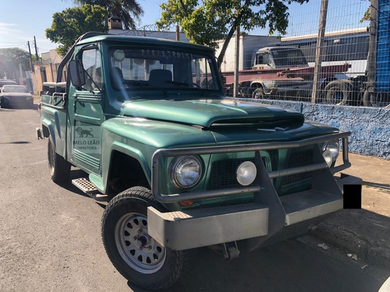 Ford F75 Rural Willys 4x2 - Ano 1972 - Motor Mwm 229, Dh