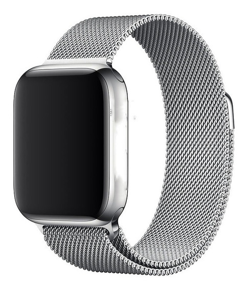 Pulseira Prata Para Apple Watch 38mm / 40mm