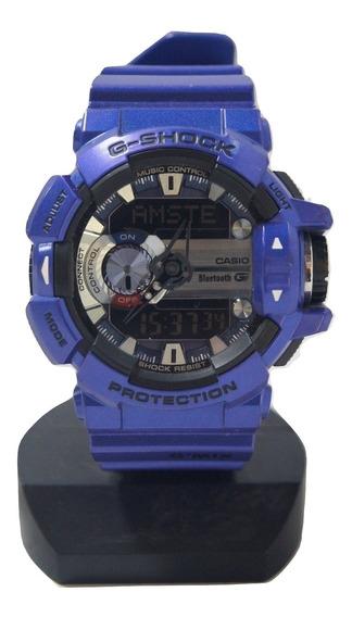 Relógio De Pulso Masculino Casio G-shock Bluetooth