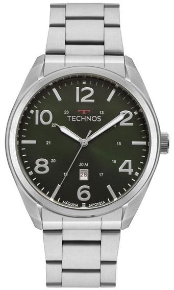Relogio Masculino Technos Verde 2115mta1v