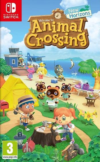 Mídia Física Animal Crossing New Horizons Switch - Lacrado!