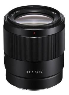 Lente Sony Fe35mm F1.8 Full Frame