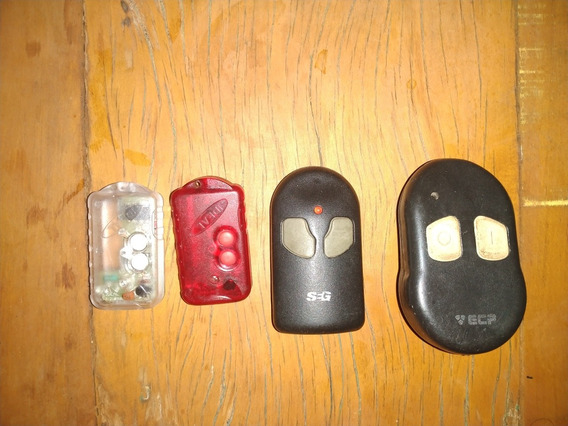 4 Controles Para Portao Automatico