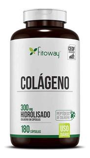 Colágeno Hidrolisado 180 Caps. - Fitoway Clean