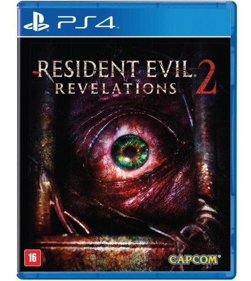 Resident Evil Revelations 2 Ps4 Mídia Física Original Novo