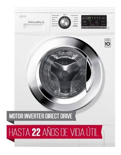 Lavarropa Inverter 8.5 Kg LG Wm8514we6 8947