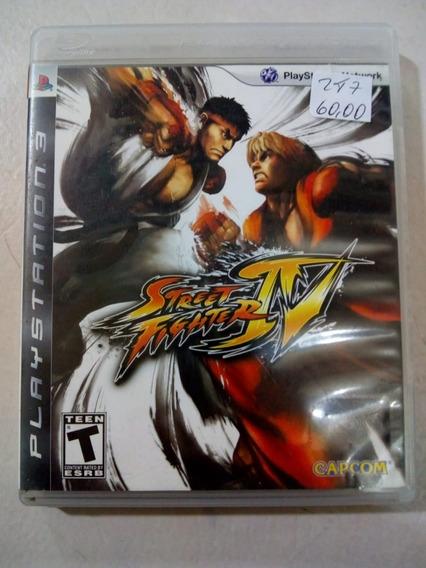 Street Fighter Iv 4 Ps3 Mídia Física