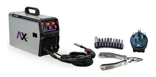 Axt-em102 Soldadora Inversor Mig/mag 1kg Electrodo 100a, 110