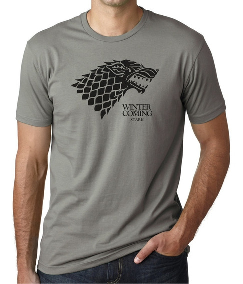 Remera Game Of Thrones Winter Is Coming Stark 100% Algodon