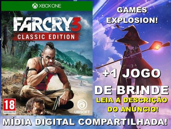Far Cry 3 Classic Edition Xbox One +1 Jogo - Mídia Digital