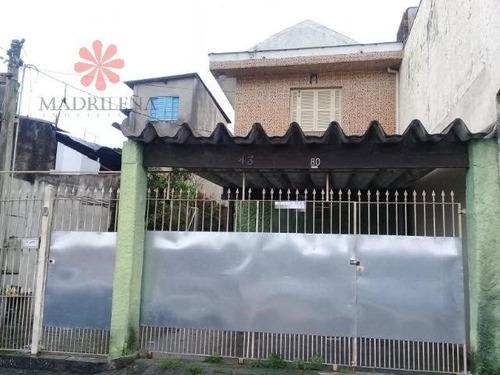 Imagem 1 de 15 de Casa Assobradada Em Vila Costa Melo  -  São Paulo - 1433