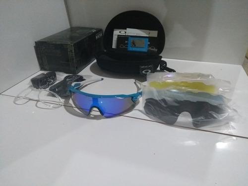 63c3689453 Óculos Ciclismo Radar Ev / Jawbreaker - Kit 5 Lentes Cores