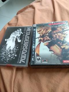 Metal Gear 4 Edicion Especial Con Saga Vol2