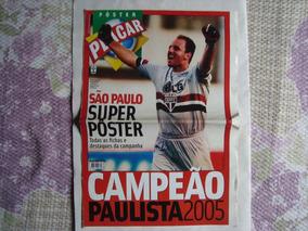 Pôster São Paulo Campeão Paulista De 2005