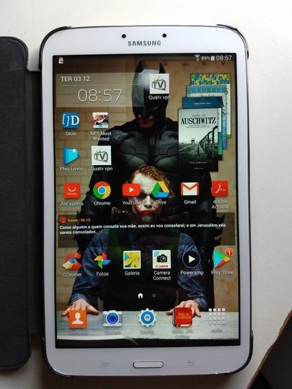 Tablet Samsung Tab 3 - Tela 8, 16gb. Sm-t310