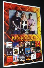 Cartaz Kid Abelha Tomate Mtv Poster Kid Abelha Discografia