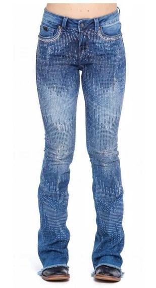 Calça Zenz Western Jeans Midnight Feminina Lançamento