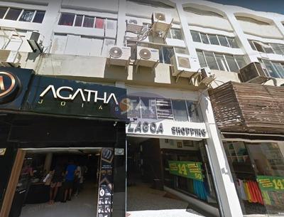 Loja Comercial Para Locação Fixa, Bairro Centro, Cabo Frio-rj - Lo0074