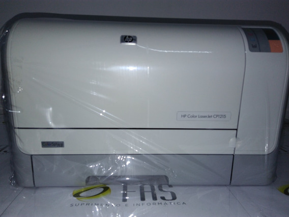 Impressora Hp Color Laserjet Cp1215 C/ Kit De Toner Incluso