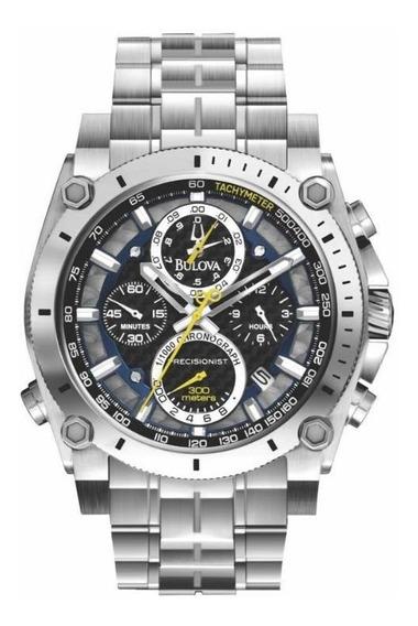 Relógio Bulova Precisionist Wb31603t Prata Masc Original