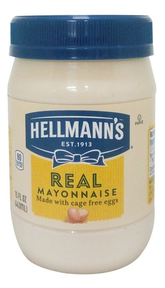 Mayonesa 15 Oz 443 Ml Hellmann