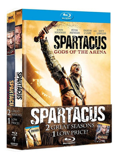 Spartacus: Blood And Sand/gods Of The Arena Blu-ray Original