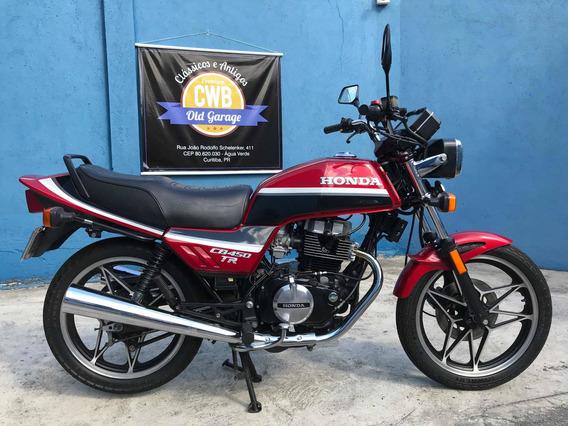 Honda Cb 450 Tr 1987 Apenas 19.000 Km Originais