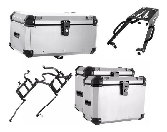 Kit Bau Roncar Top Case 56 Litros Completo Gs1200 Adv