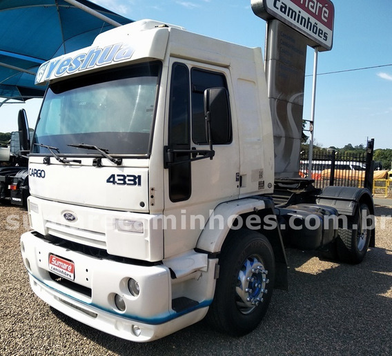 Ford Cargo 4331 4x2 Cabine Leito Teto Alto