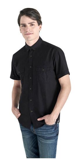 Camisa Manga Corta De Hombre C&a (1061198)