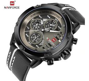 Relógio De Pulso Masculino Naviforce 9110