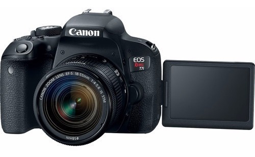 Câmera Semi Profissional T7i Kit, Wifi Ler Todo Anuncio