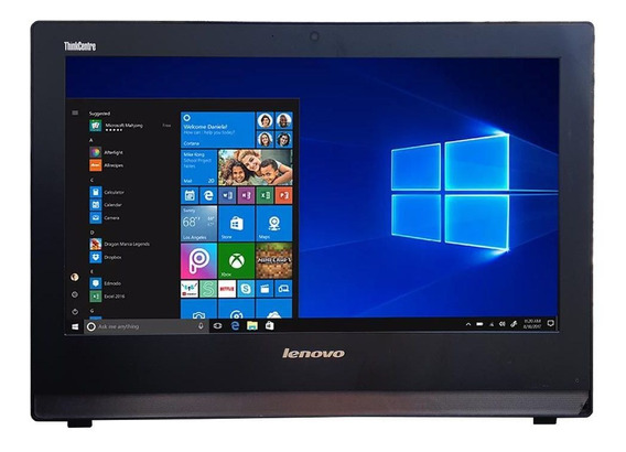 All In One Lenovo Edge 73z 20 Core I5 4ªg 8gb Ssd 120gb