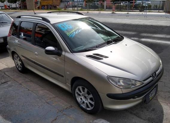 Peugeot 206 Sw Pres 1.4 8v Flex 2006 - Completa