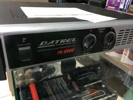 Amplificador De Potencia Profissional Pa-8000
