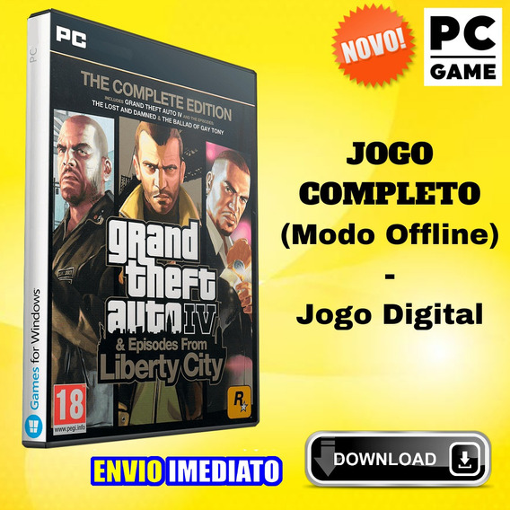 Grand Theft Auto Iv: The Complete Edition - Pc - Digital