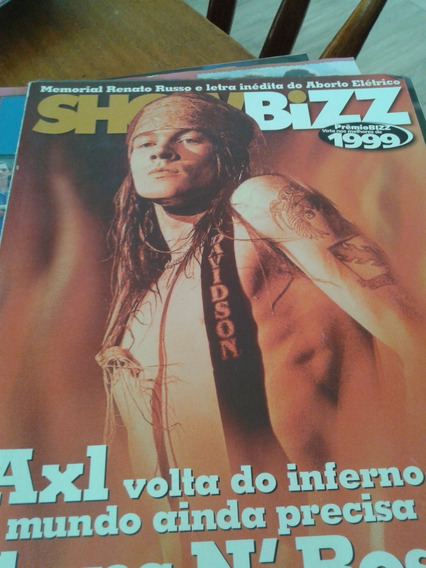 Metal Massacre Aerosmith + Showbizz Axl Guns & Roses