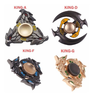 Fidget Spinner Metalico King Of Glory Inoxidable Antiestres