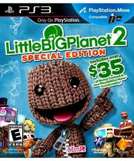 Edición Especial De Ps3 Little Big Planet 2