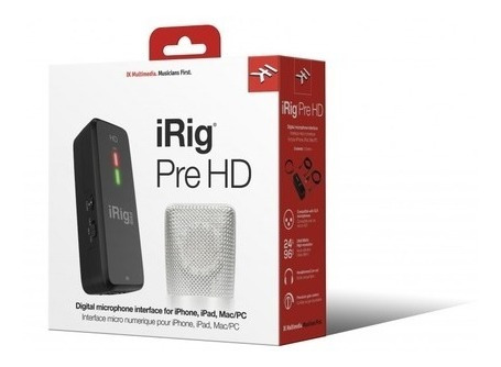 Interface Ik Multimedia Irig Pre Hd Digital Alta Definição