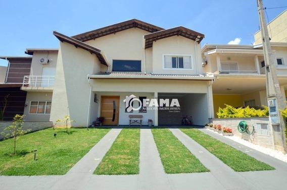 Casa Residencial À Venda, Condomínio Campos Do Conde, Paulínia - Ca0117. - Ca0117