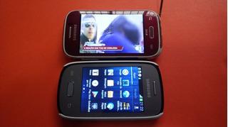 Celulares Usados Samsung Neo E Young Tv Lote Leia O Anuncio