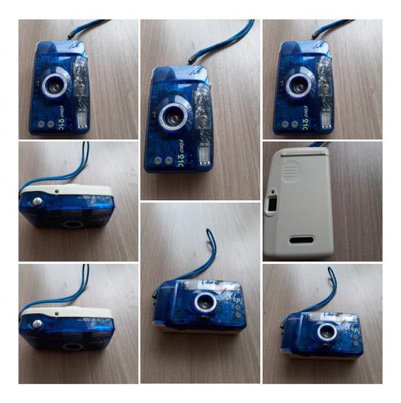 Câmera Fotográfica Antiga Usa Filmes Funciona Perfeitamente