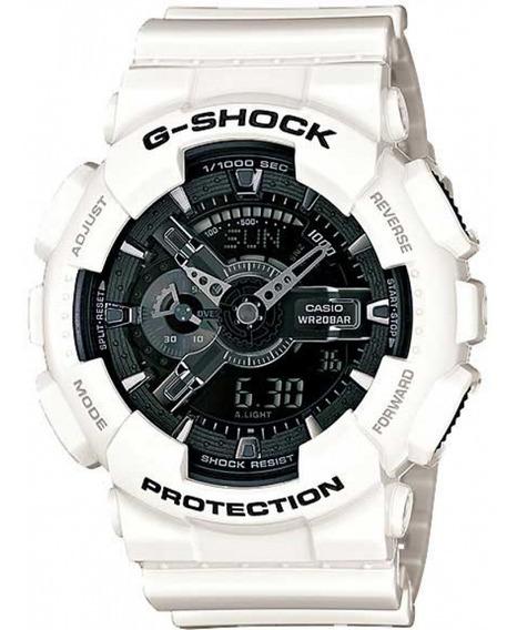 Relógio Casio Masculino G-shock Anadigi Ga-110gw-7adr