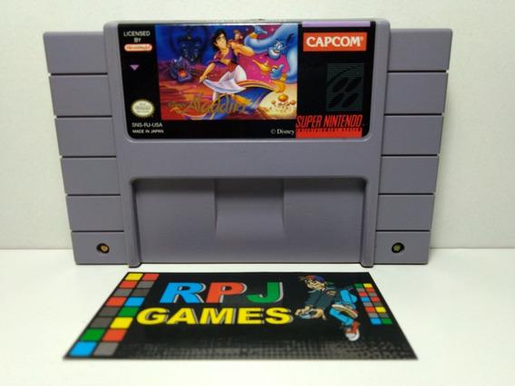 Aladdin Original Super Nintendo Snes - Loja Centro Rj - &&