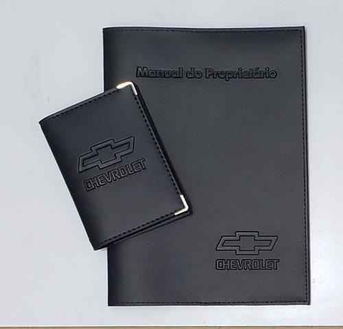 Imagem 1 de 6 de Kit Chevrolet Porta Manual E Porta Documentos