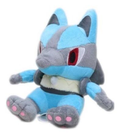 Pelúcia Turma Pokémon Lucario (15cm) - Importada