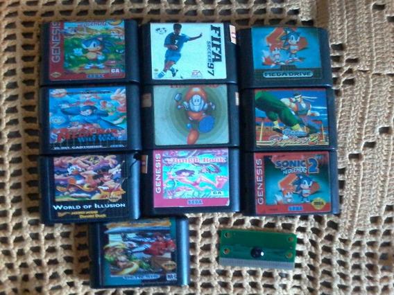 Jogos De Mega Drive Sonic Mickey Street Fighter Virtua Fighter E Mais